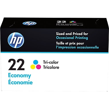 HP 22 Tricolor C/M/Y Economy Ink Cartridge (B3B19AN)