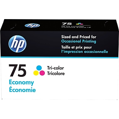 HP 75 Tricolor Economy Ink Cartridge (B3B21AN)