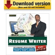 SelectSoft QuickStart Resume Maker for Windows (1-User) [Download]