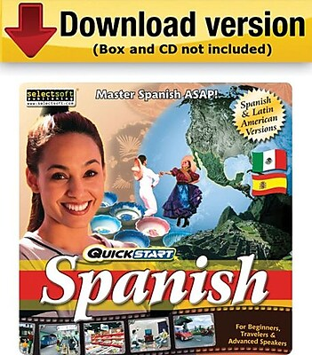SelectSoft QuickStart Spanish for Windows 1 User [Download]