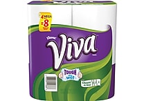 Viva® Choose-A-Size Mega Roll Paper Towels, 4 Rolls/Pack