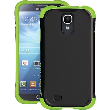 Ballistic Aspria Series Case for Samsung Galaxy S4,  Black/Lime Green