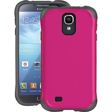 Ballistic Aspria Series Case for Samsung Galaxy S4, Raspberry Pink/Charcoal