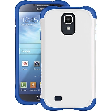 Ballistic Aspria Series Case for Samsung Galaxy S4, White/Imperial Blue