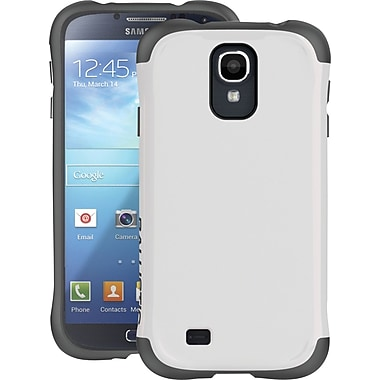 Ballistic Aspria Series Case for Samsung Galaxy S4, White/Charcoal