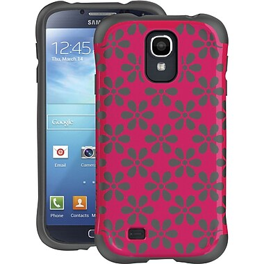 Ballistic Aspria Series Case for  Samsung Galaxy S4, Raspberry Pink / Charcoal