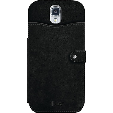 iLuv Modena L Premium Leather Wallet Case for Samsung Galaxy S4