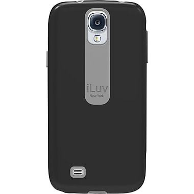 iLuv Flightfit L Dual-layer Case for Samsung Galaxy S4, Black