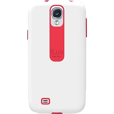 iLuv Flightfit L Dual-layer Case for Samsung Galaxy S4, White