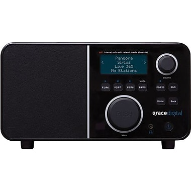 Grace Digital Innovator X Wireless Internet Radio w/ Remote