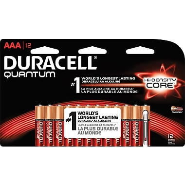 Duracell® – Piles alcalines AAA Quantum