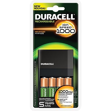 duracell ion speed 1000 battery charger manual