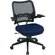 Office Star Space® Fabric Task Office Chair with Deluxe Air Grid® Back, Navy