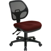 Office Star Proline II® ProGrid® FreeFlex® Fabric Ergonomic Task Chair, Burgundy