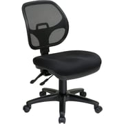 Office Star Proline II® ProGrid® FreeFlex® Fabric Ergonomic Task Chair, Black