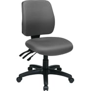 Office Star WorkSmart™ FreeFlex® Fabric Mid Back Ergonomic Task Chair without Arm, Gray
