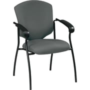Office Star Worksmart Steel Guest Chair, Gray (41575-226)
