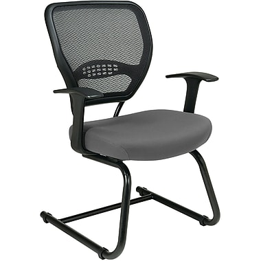 Office Star Space® Professional Air Grid® Back Fabric Guest Chair, Gray