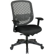 Office Star Space® Gunmetal Executive Office Chair, Black