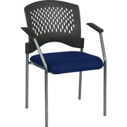 Office Star Proline II Metal Guest Chair, Navy (8610-225)