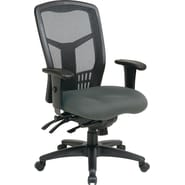 Office Star Proline II® ProGrid® High back Managers Chair, Gray Fabric Seat