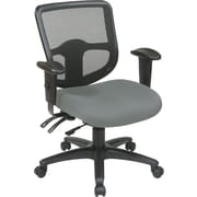 Office Star Proline II® ProGrid® Ergonomic Task Chair with Ratchet Back, Gray