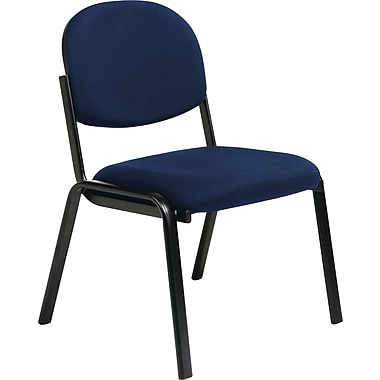 Office Star WorkSmart™ Fabric Armless Guest Chairs