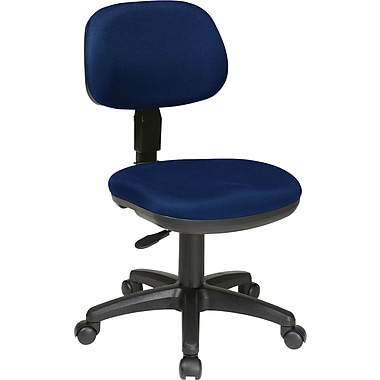 Office Star WorkSmart™ Basic Task Chair, Navy