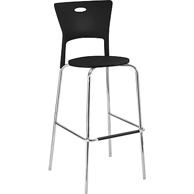 Lumisource Mimi Sturdy Bar Stool, Black
