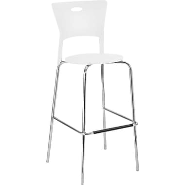 Lumisource Mimi Sturdy Bar Stool, White