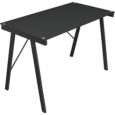 LumiSource Standard Exponent Desk, Black (OFD-TM-PBLNK BK)