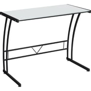 LumiSource Sigma Standard Workstation Desk, Black (OFD-TM-BITSGL B)