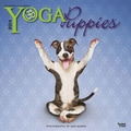 2014 Yoga Puppies Mini Wall Calendar, 7in. x 7in.