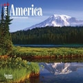 2014 America Mini Wall Calendar, 7in. x 7in.