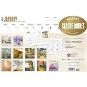 2014 Claude Monet Desk Pad, 12 x 17