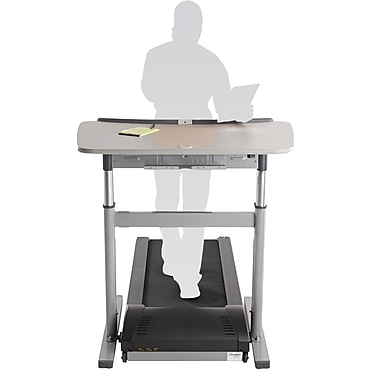 Lifespan TR800-DT7 Treadmill Desk, Gray