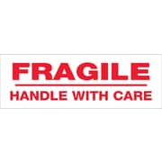 Tape Logic™ 2 x 55 yds. Pre Printed Fragile Handle With Care Carton Sealing Tape, 36/Case