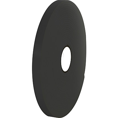 Tape Logic™ 3/4in. x 36 yds. Double Coated Foam Tape, Black, 2/Pack