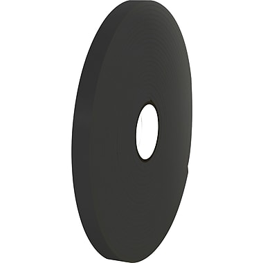 Tape Logic™ 1/2in. x 36 yds. Double Coated Foam Tape, Black, 2/Pack