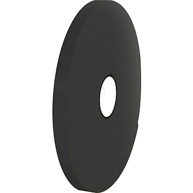 Tape Logic™ 1in. x 36 yds. Double Coated Foam Tape, Black, 2/Pack