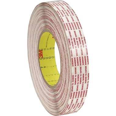 3M™ 1/2in. x 360 yds. Double Sided Extended Liner Tape 476XL, Translucent, 2/Pack