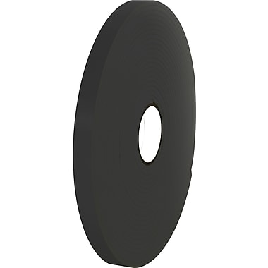 Tape Logic™ 3/4in. x 36 yds. Double Coated Foam Tape, Black, 16/Case