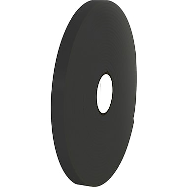Tape Logic™ 1/2in. x 36 yds. Double Coated Foam Tape, Black, 24/Case