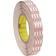 "3M™ 1"" x 540 yds. Double Sided Extended Liner Tape 476XL, Translucent, 2/Pack"
