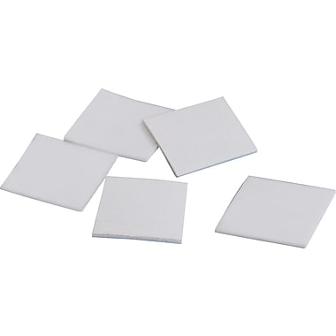 Tape Logic™ 3/4in. x 3/4in. Double Coated Foam Square, White, 864/Roll