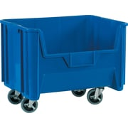 "BOX 19 7/8"" x 15 1/4"" x 12 7/16"" Mobile Giant Stackable Bin, Blue"