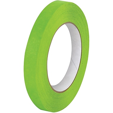 Tape Logic™ 3/4in. x 60 yds. Masking Tape, Light Green, 12/Case