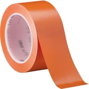 "3M™ 471 Vinyl Tape, 2"" x 36 yds., Orange, 3/Case"