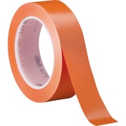 3M™ 1 x 36 yds. Solid Vinyl Safety Tape 471, Orange, 3/Pack