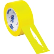 "Tape Logic™ 3"" x 55 yds. Yellow Carton Sealing Tape, 6/Pack"